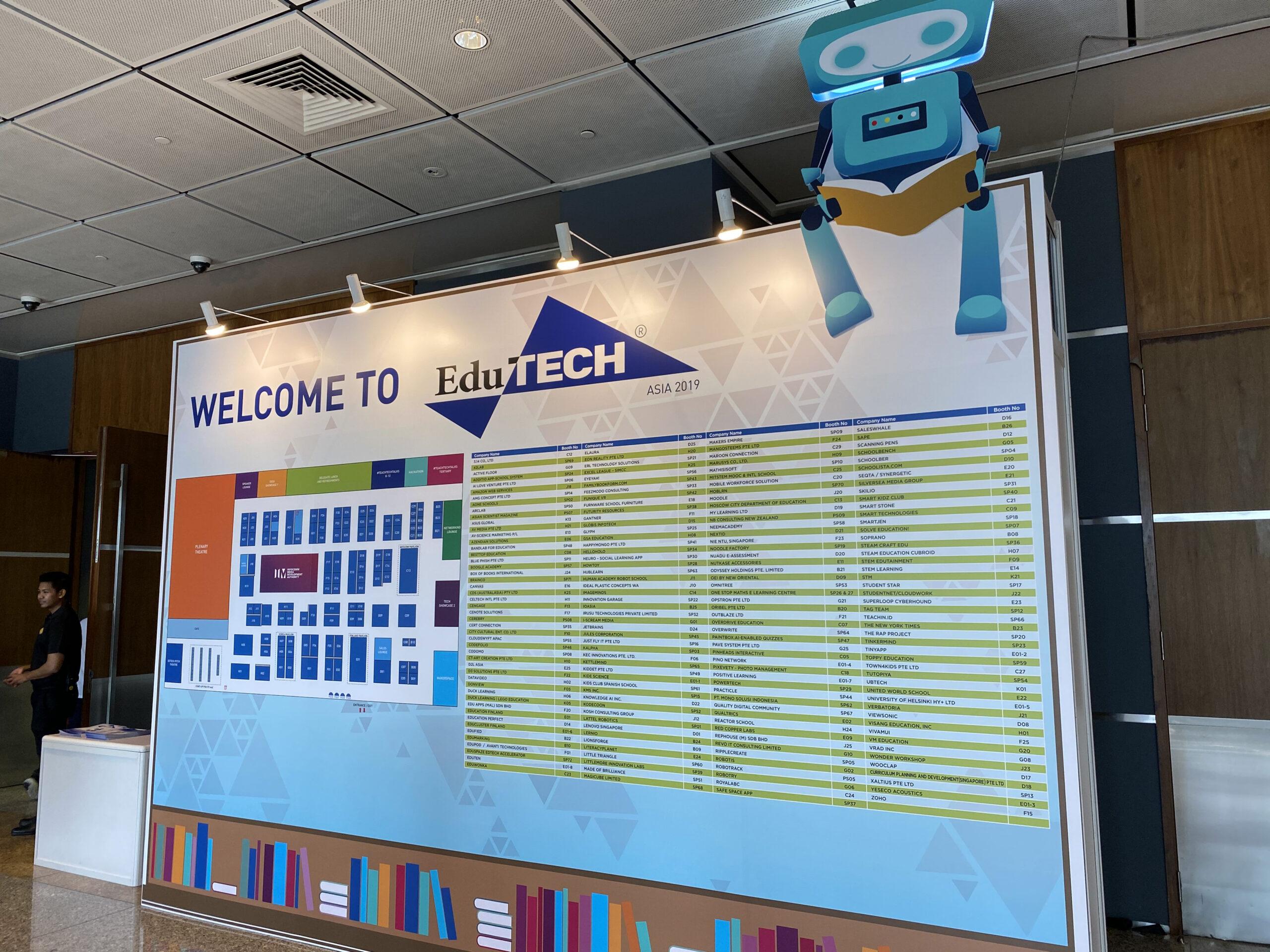 EduTECH Asia Expo 2019, Singapore 3