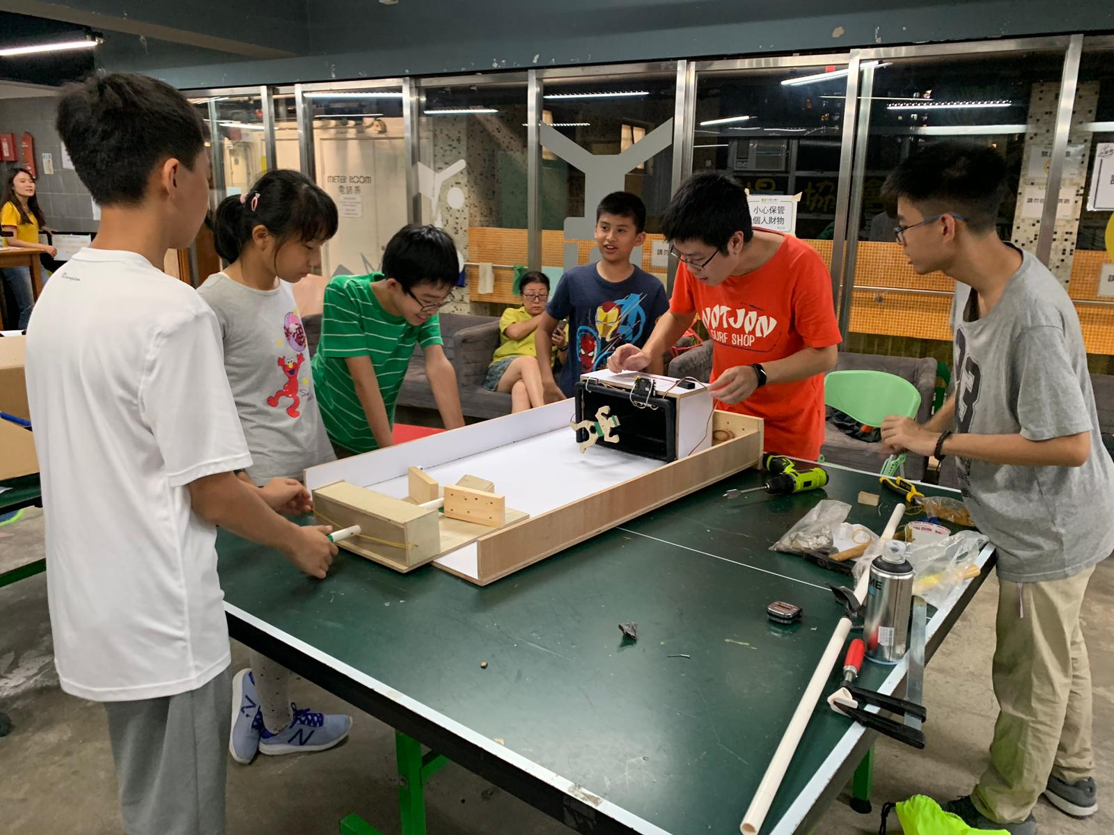 HKPA soccer scoring machine workshop 1