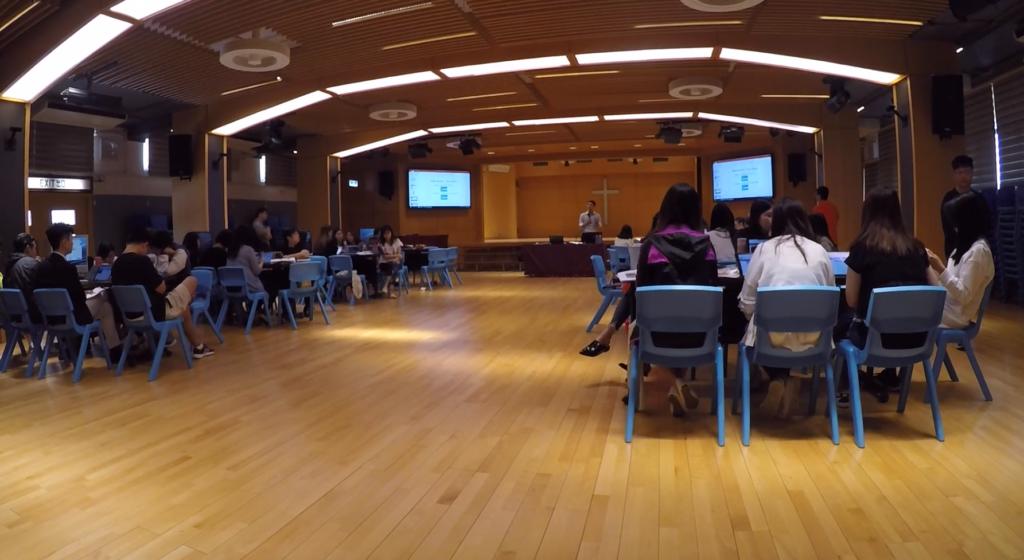 Teacher training at Kowloon City Baptist Church Hay Nien Primary School