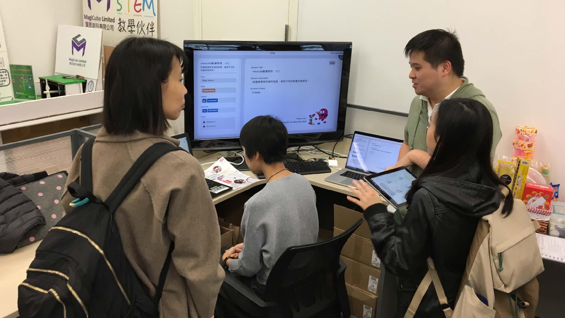 The Hong Kong Federation Of Youth Groups visit 2