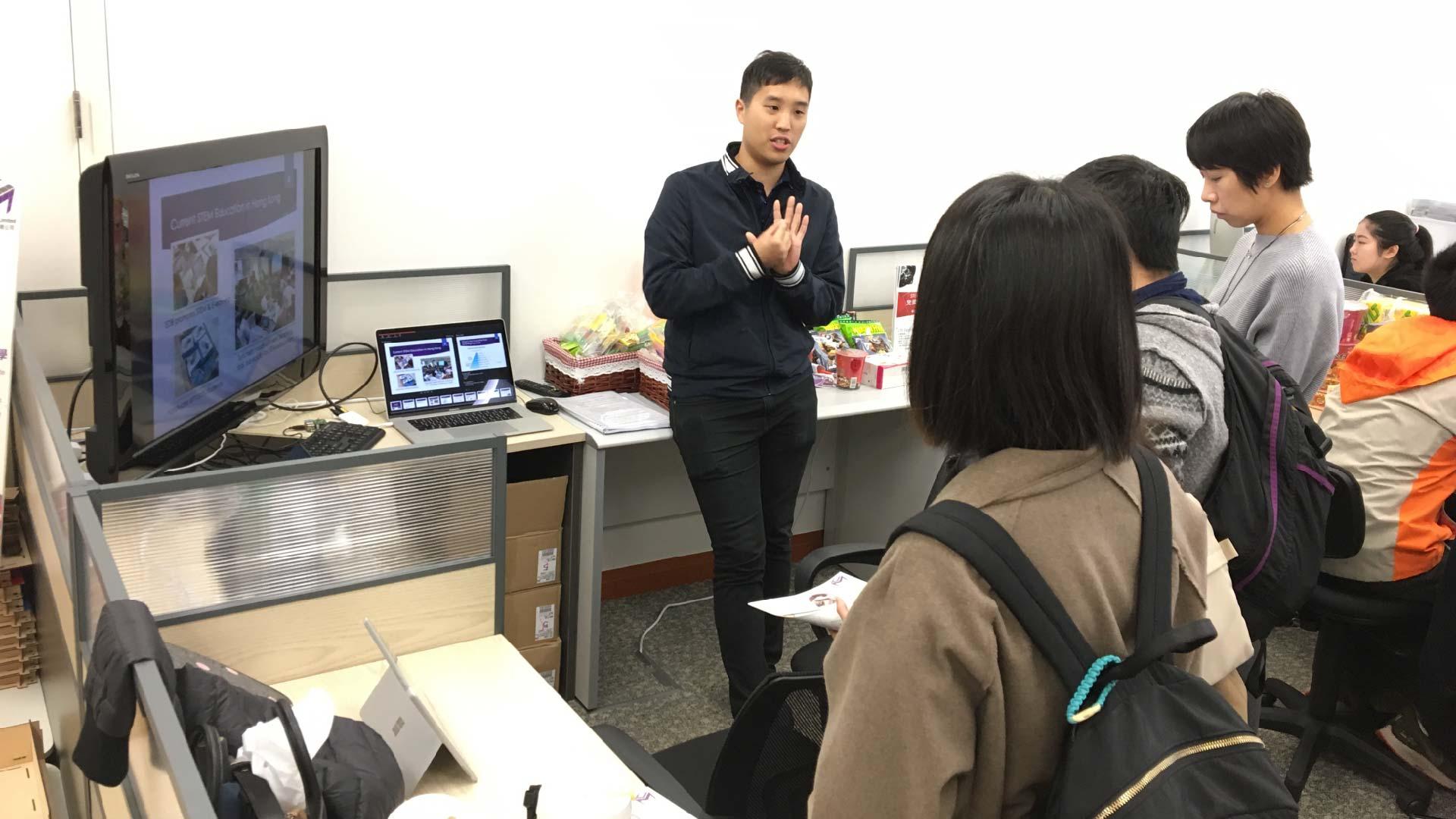 The Hong Kong Federation Of Youth Groups visit 3