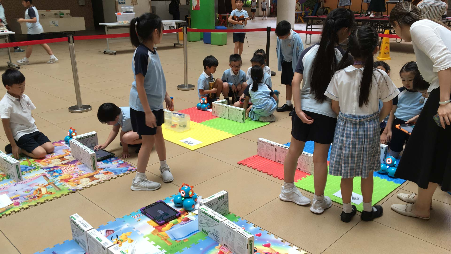 Una board for STEM competition at HKBUAS 3