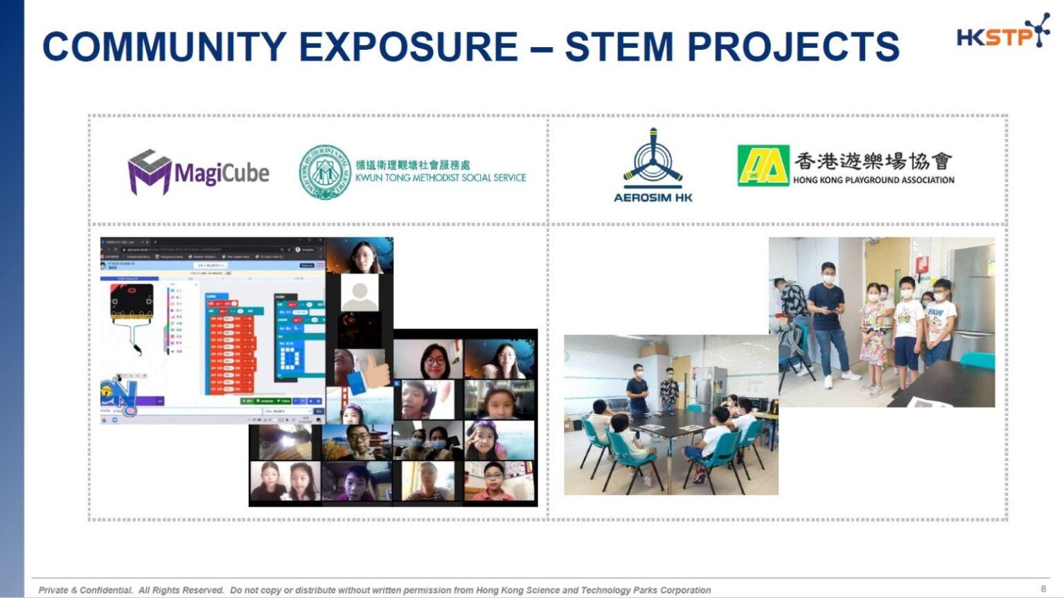 Una STEM for Community Training Featured on HKSTP Summer Internships Programme