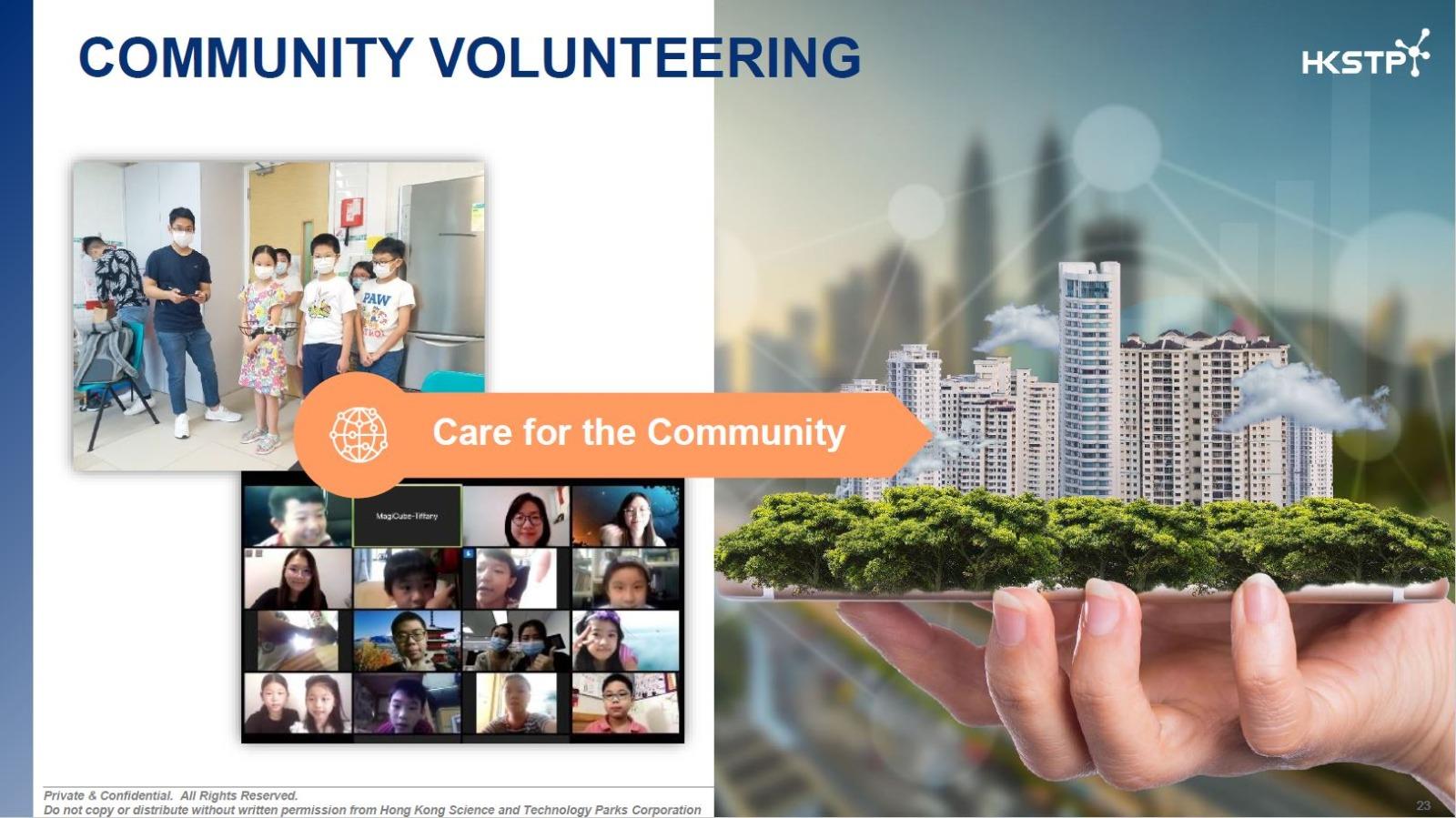 Una STEM for Community Training Featured on HKSTP Summer Internships Programme 2
