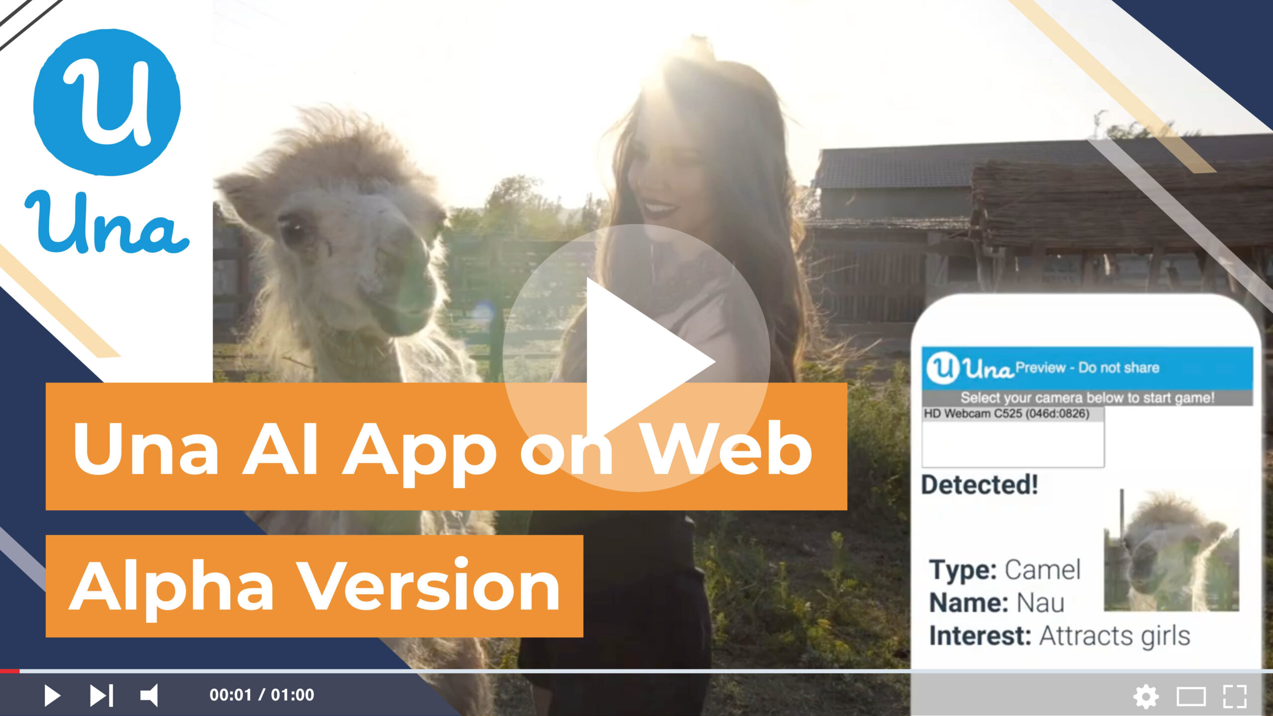 Una AI App on Web–Alpha version is officially released, try it out now!